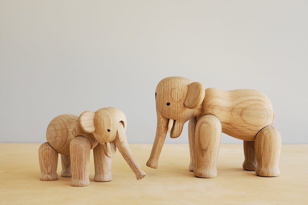 Danish Wood Elephants