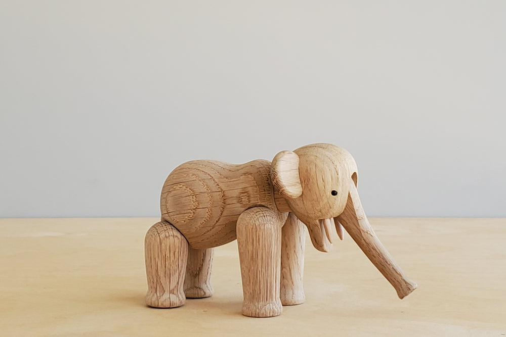 Load image into Gallery viewer, Danish Wood Elephants