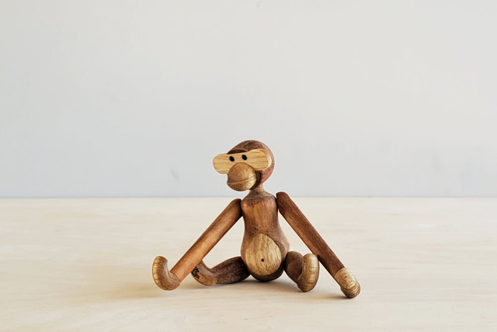 Danish Wood Mini Monkey