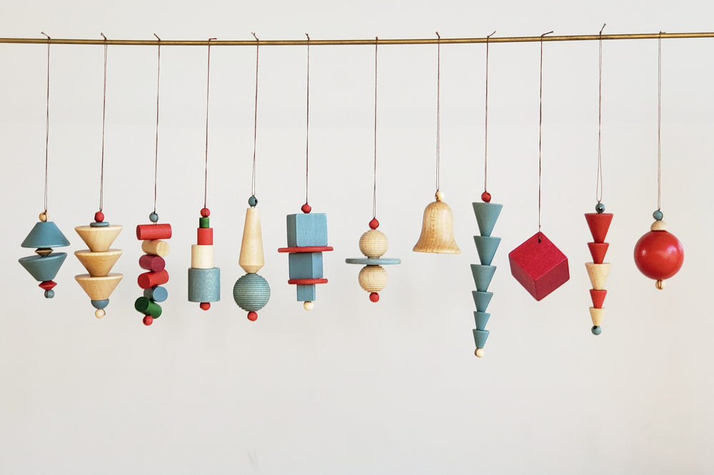 Bauhaus Ornaments Set