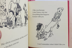 Load image into Gallery viewer, I like you by Sandol Stoddard Warbug illustrated by Jacqqueline Chwast