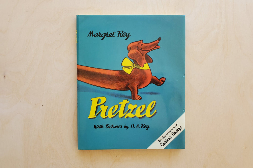 Children's Book Pretzel by Margret Rey with Pictures by H.A. Rey