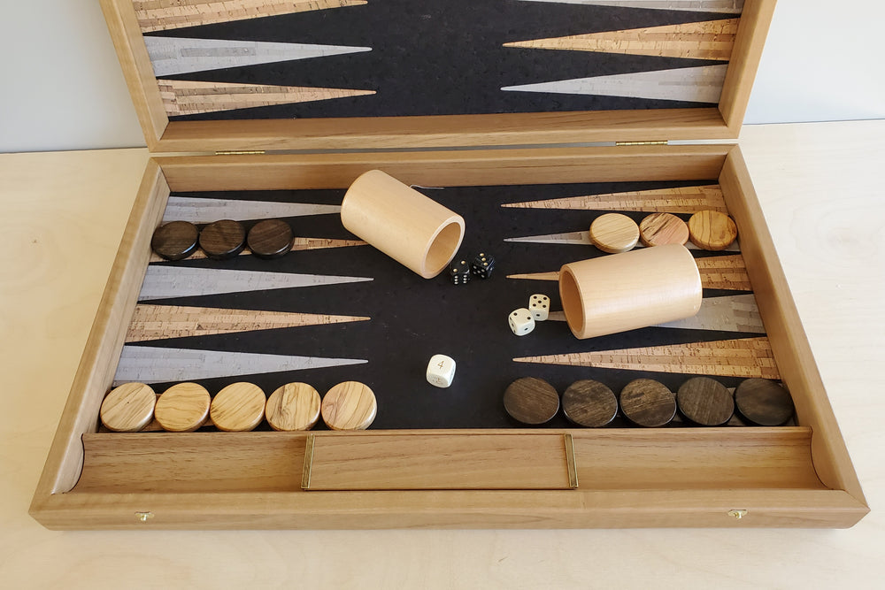 Load image into Gallery viewer, Large Greek Backgammon  Set