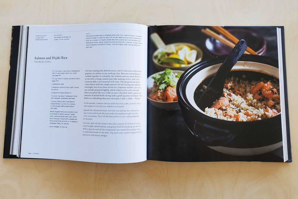 Donabe: Classic and Modern Japanese Clay Pot Cooking [A Cookbook Naoko Takei Moore and chef Kyle Connaughton