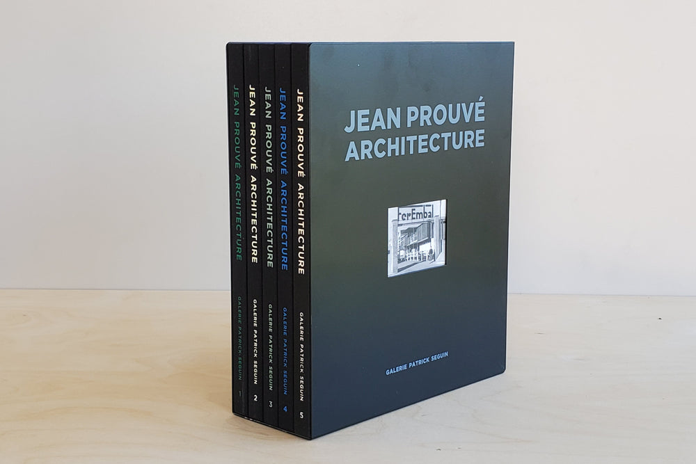 Jean Prouvé Architecture: Five-Volume Box Set No. 1