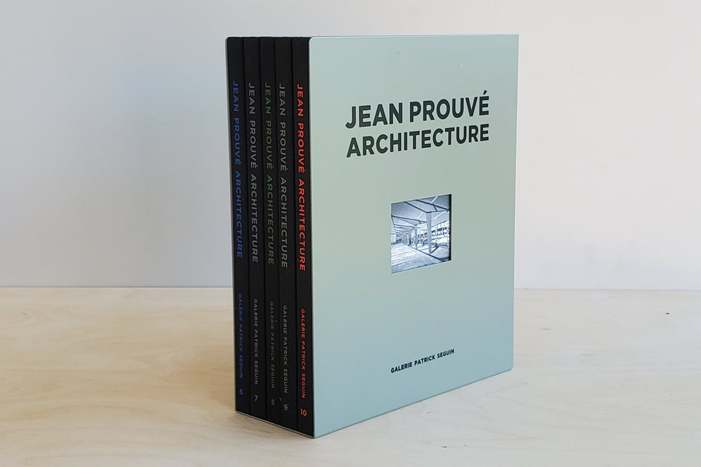 Jean Prouvé Architecture: Five-Volume Box Set No. 2