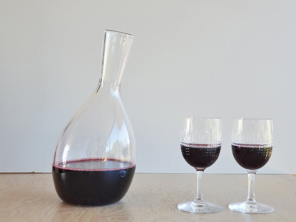 Handblown Wine Decanter