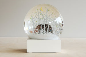 Cool Snow Globe - Bear and Fox