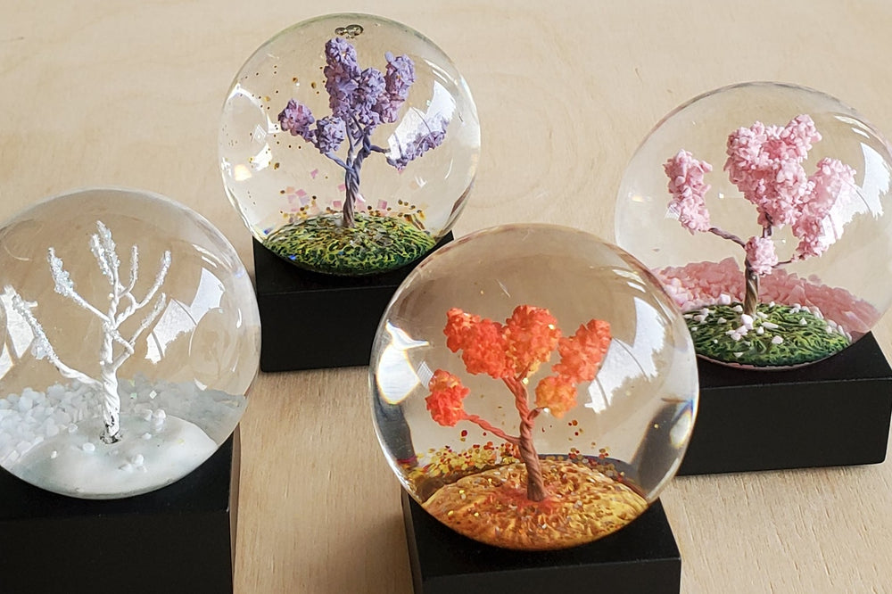 Cool Snow Globe - Four Seasons Mini Set