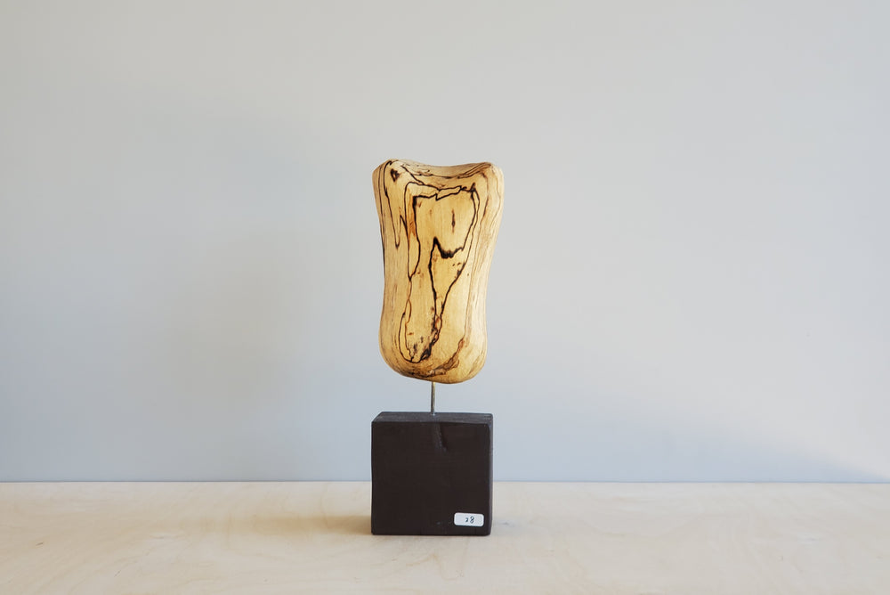 Japanese Abstract Wood Sculpture #28