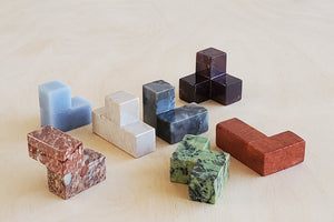 Load image into Gallery viewer, Stone Soma Cube