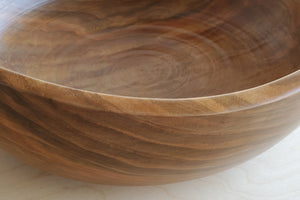 Circle Factory Cherry Wood Bowl