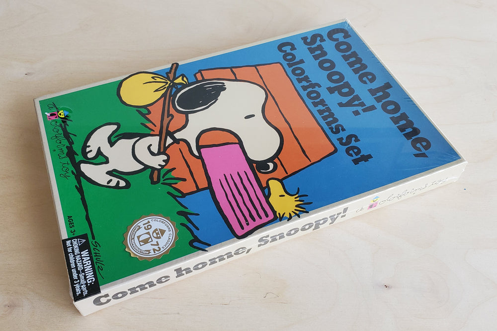 "Colorforms ""Snoopy Come Home"""