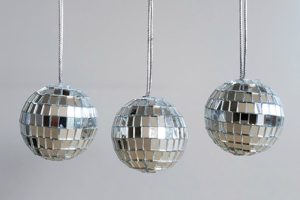 "Christmas Ornaments ""Disco Balls"""