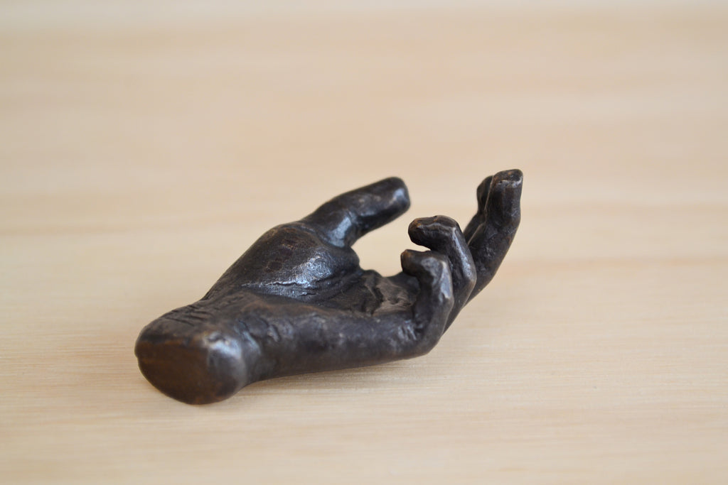 Anne Rickettes Bronze Blessing Hand | OK