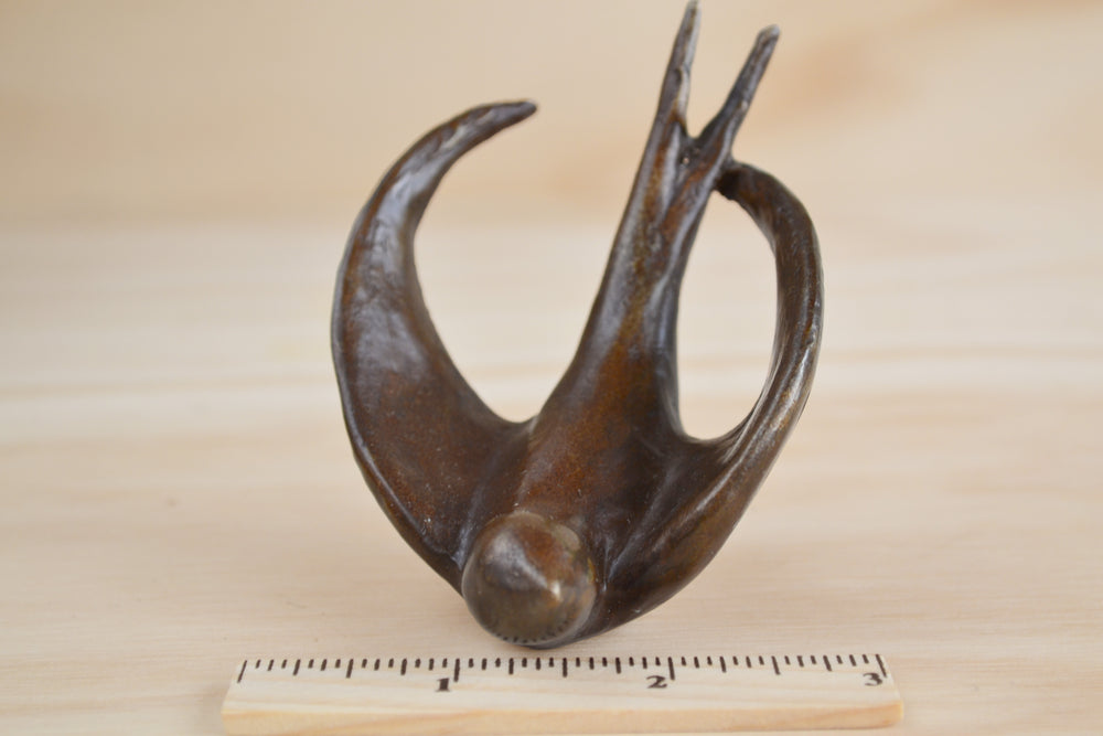 "Bronze Object ""Coming Home"" (flying swallow)"