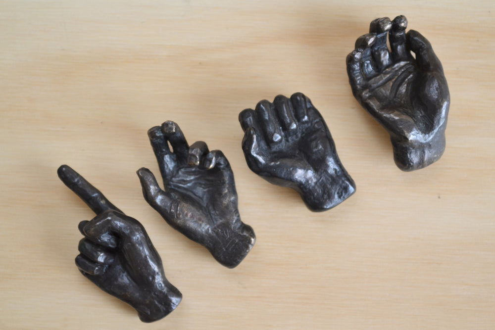 "Bronze Objects Small ""Hands"""