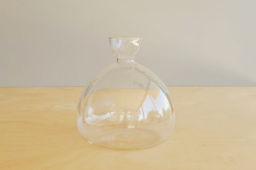 Avocado Seed Vase designed by Ed Spurr for Ilex Studios glass vase