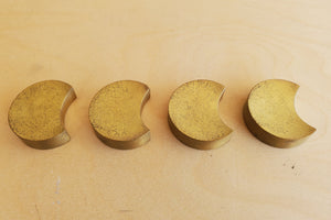 Japanese Brass Chopstick Rest Set of 4