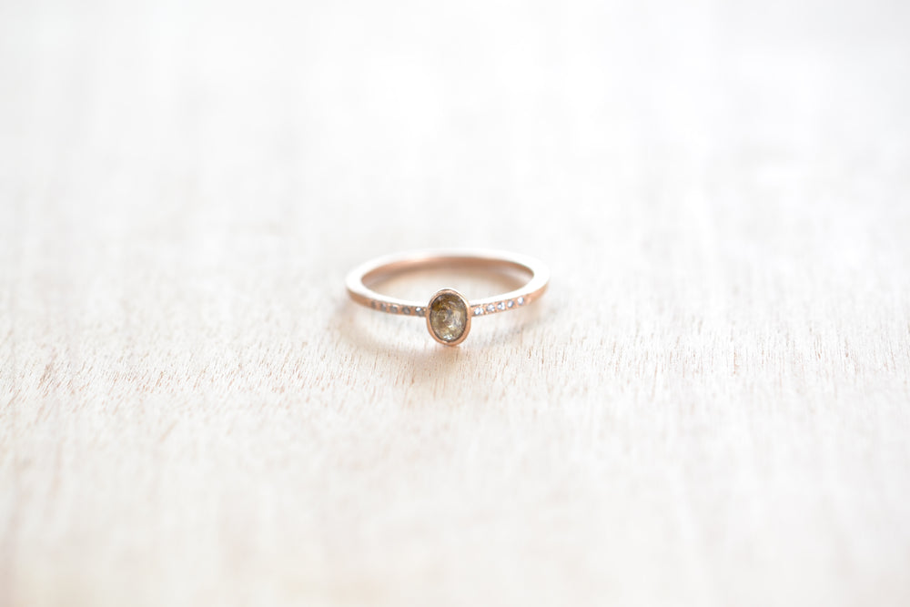 Stacking Stone Ring