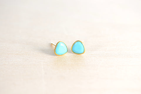 <small>Pippa Small</small><br> Turquoise Classic Stud Earrings