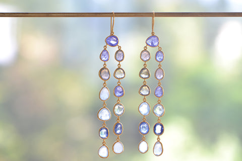 <small>Pippa Small</small><br> Two Row Colette Earrings