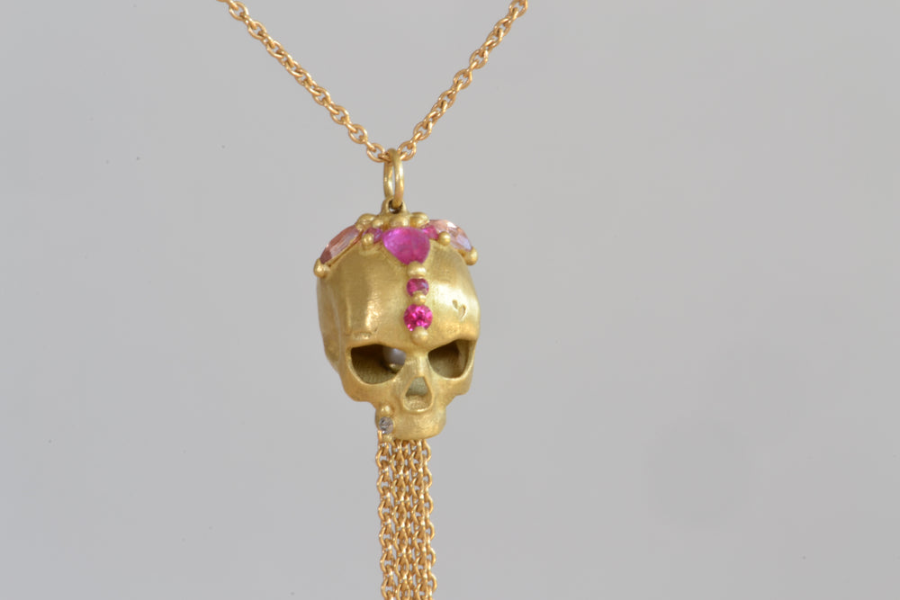 Forbidden City Skull Necklace
