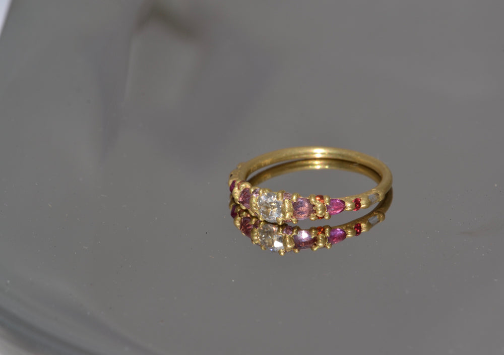 Load image into Gallery viewer, Coral Marietta Diamond Ring