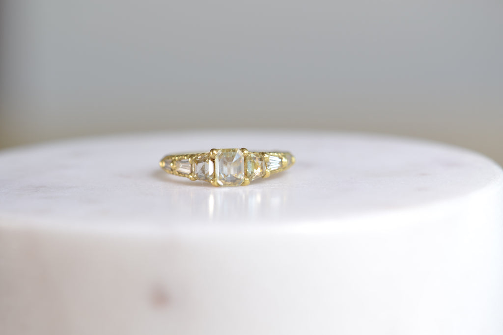 <small>Polly Wales</small><br> Atrium Diamond Ring