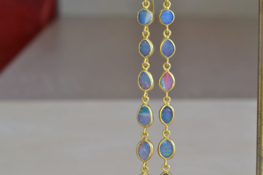 Pippa Small Caribbean Daydream Ten Drop Earrings