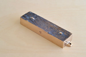 "Load image into Gallery viewer, Bronze ""Mezuzah From This Home"" - Suwalki Poland"