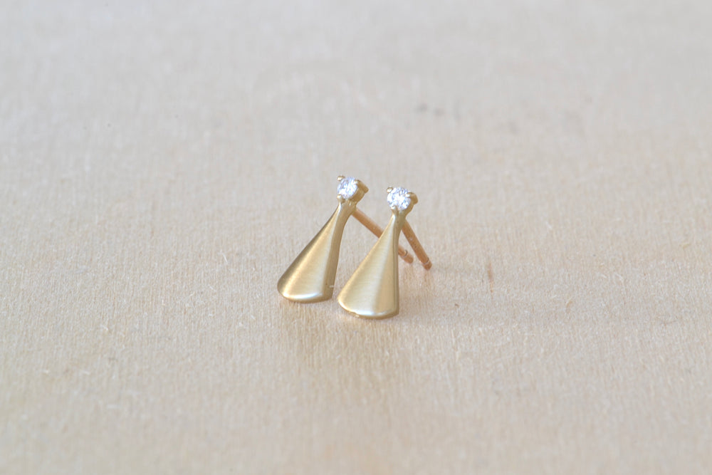 Diamond Ray Studs