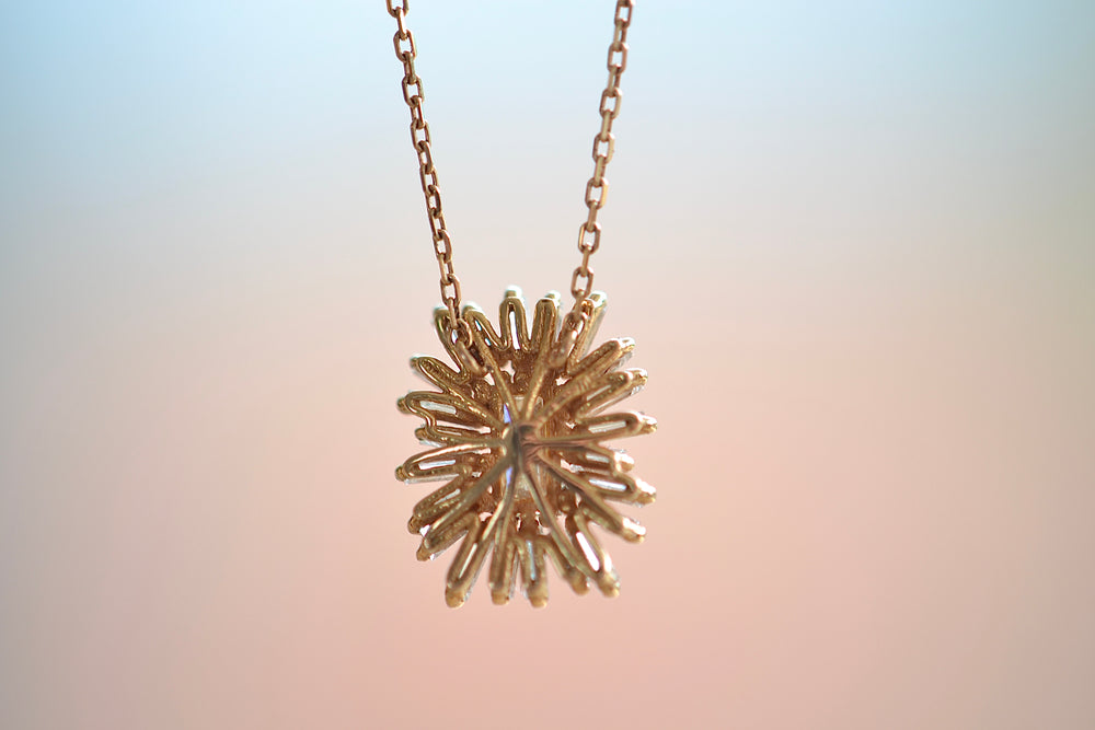 Deco Cognac Diamond Necklace