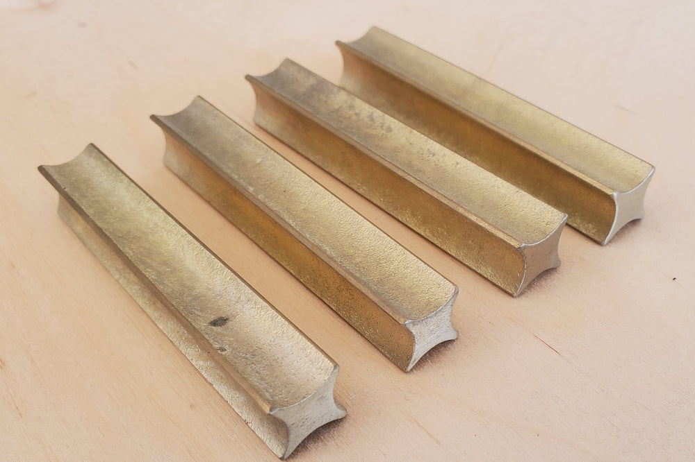 Japanese Brass Knife Rests Set of 4