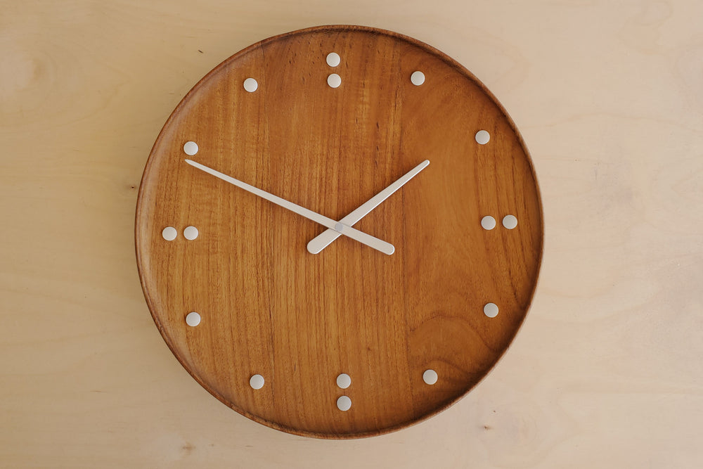 Finn Juhl Limited Edition Teak Clock