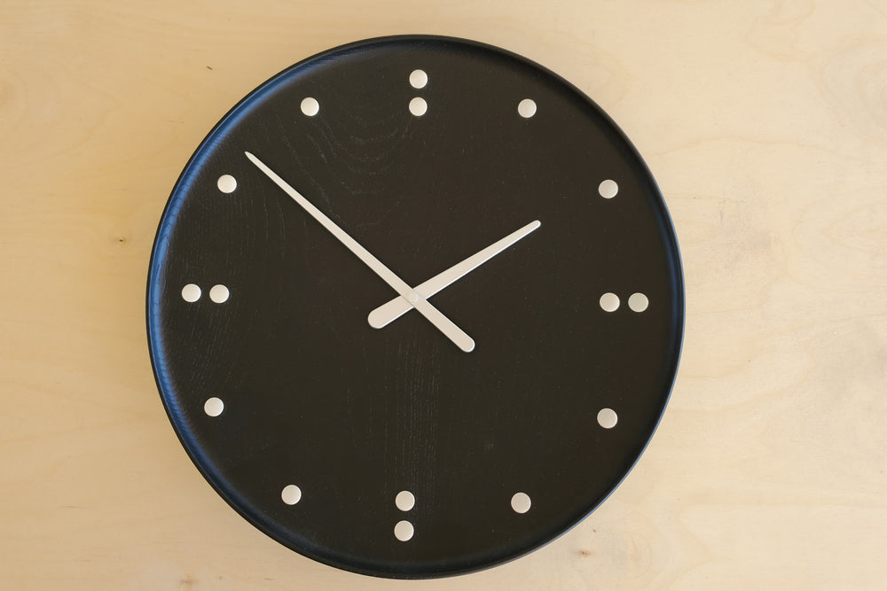 Finn Juhl Stained Ash Clock