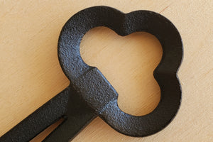 Cast Iron Clover Bottle Opener