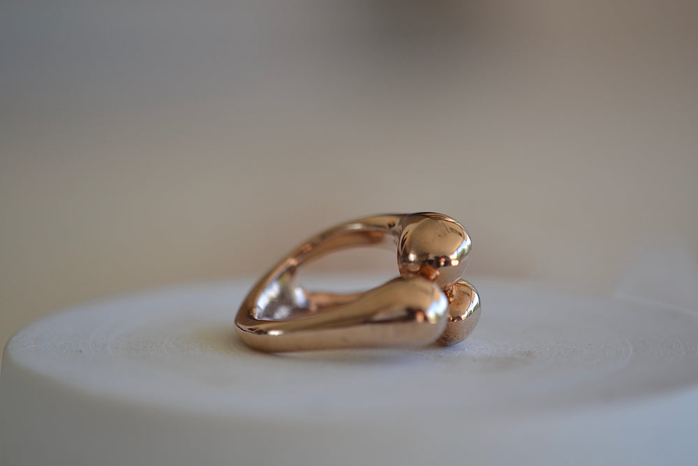 Load image into Gallery viewer, Monica Castiglioni Abbracci 05 Ring Bronze