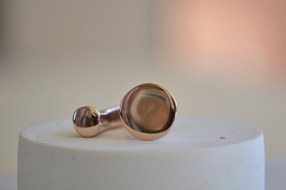 Load image into Gallery viewer, Monica Castiglioni Ciotole 16 Ring Bronze