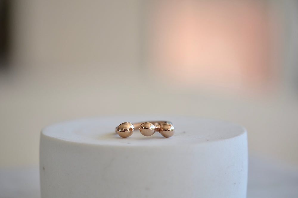 Load image into Gallery viewer, Monica Castiglioni Pistillini 14 Ring Bronze