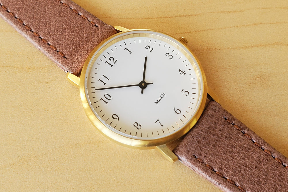 Load image into Gallery viewer, M & Co. Bodoni Watch by Tibor Kalman