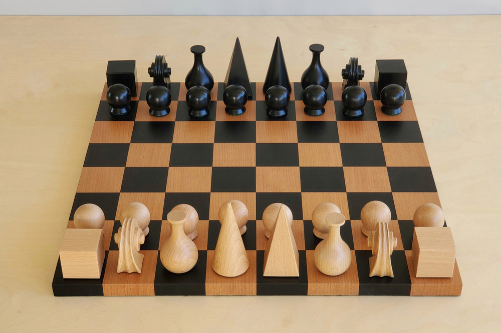Man Ray Chess Set and Board