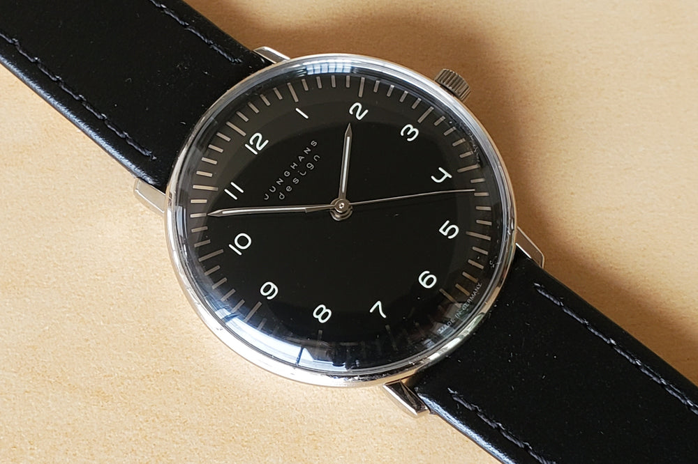 Max Bill 34mm Handwound  Watch