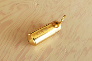 Load image into Gallery viewer, Piece Pipe.  One-hitter pipe.  Brass made in Sweden.