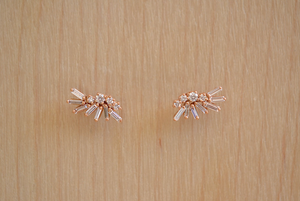 Load image into Gallery viewer, Suzanne Kalan Firework Wing Studs