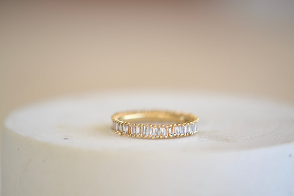 Small Baguette Eternity Band