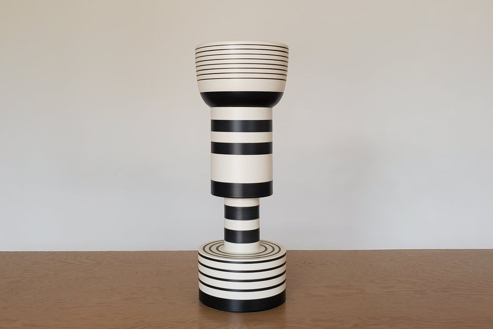 Sottsass Calice and Rocchetto Vases from Bitossi