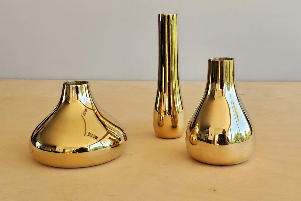 "Skultuna ""Bonbon"" Set of 3 Mini Vases"