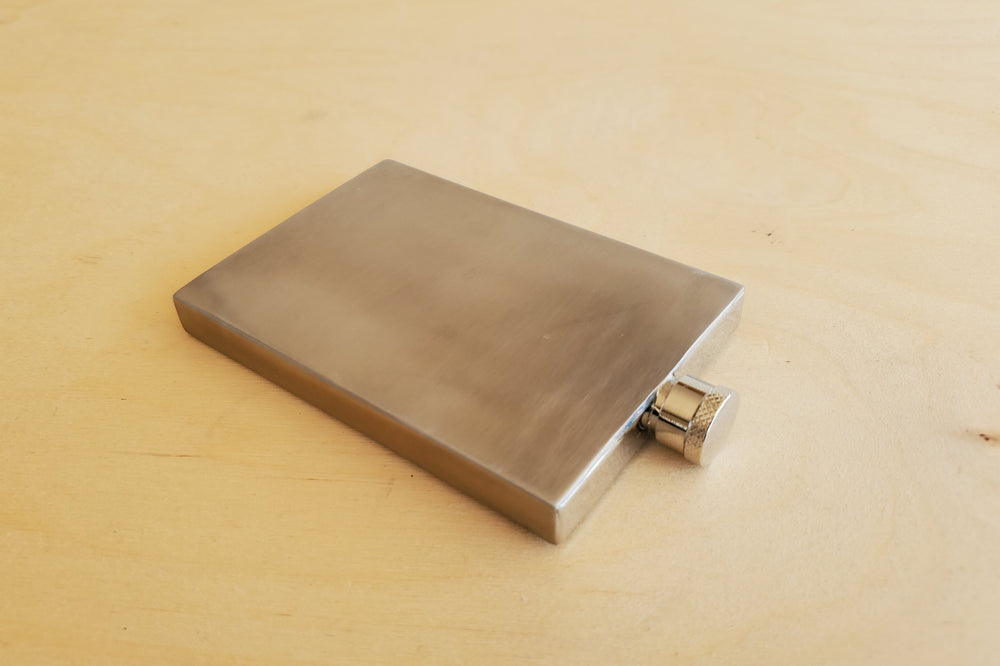 Hip Flask 3oz in Stainless Steel