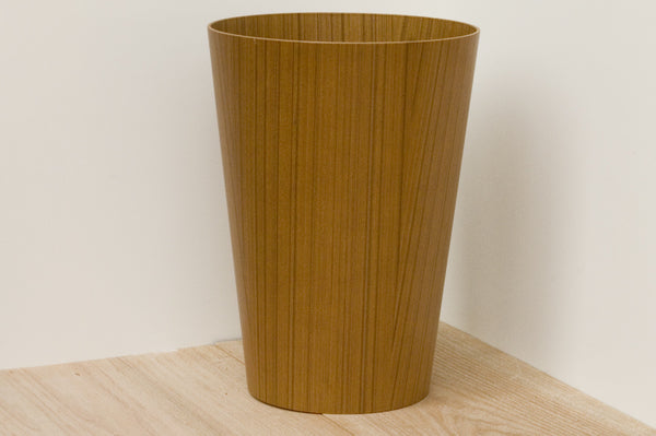 Load image into Gallery viewer, Japanese Teak Wastebasket